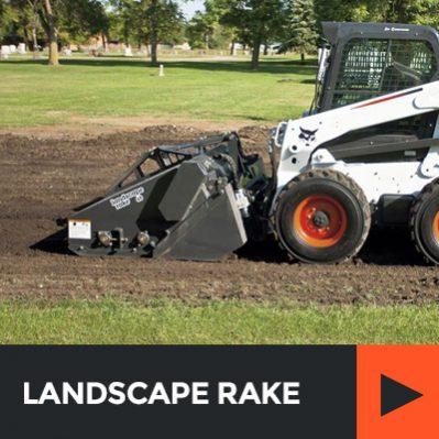 bobcat-landscape-rake-for-rent