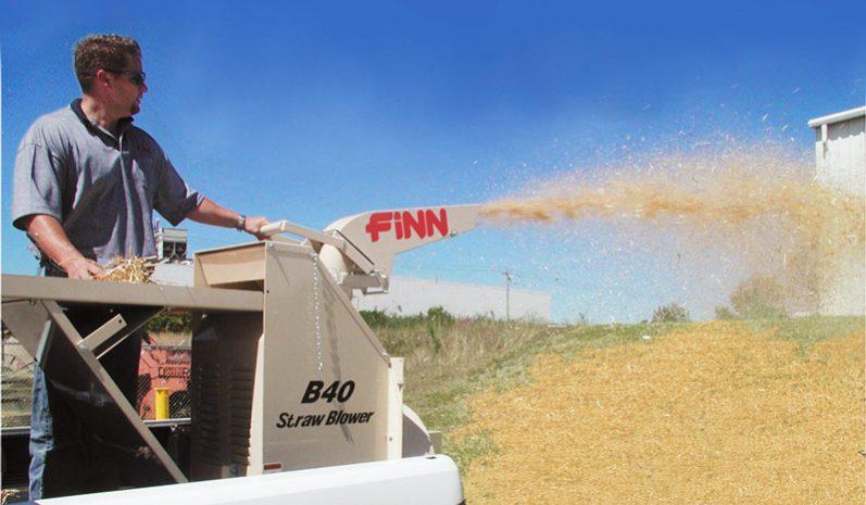 Finn B40 Straw Blower full