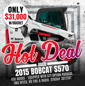 Used 2015 Bobcat S570