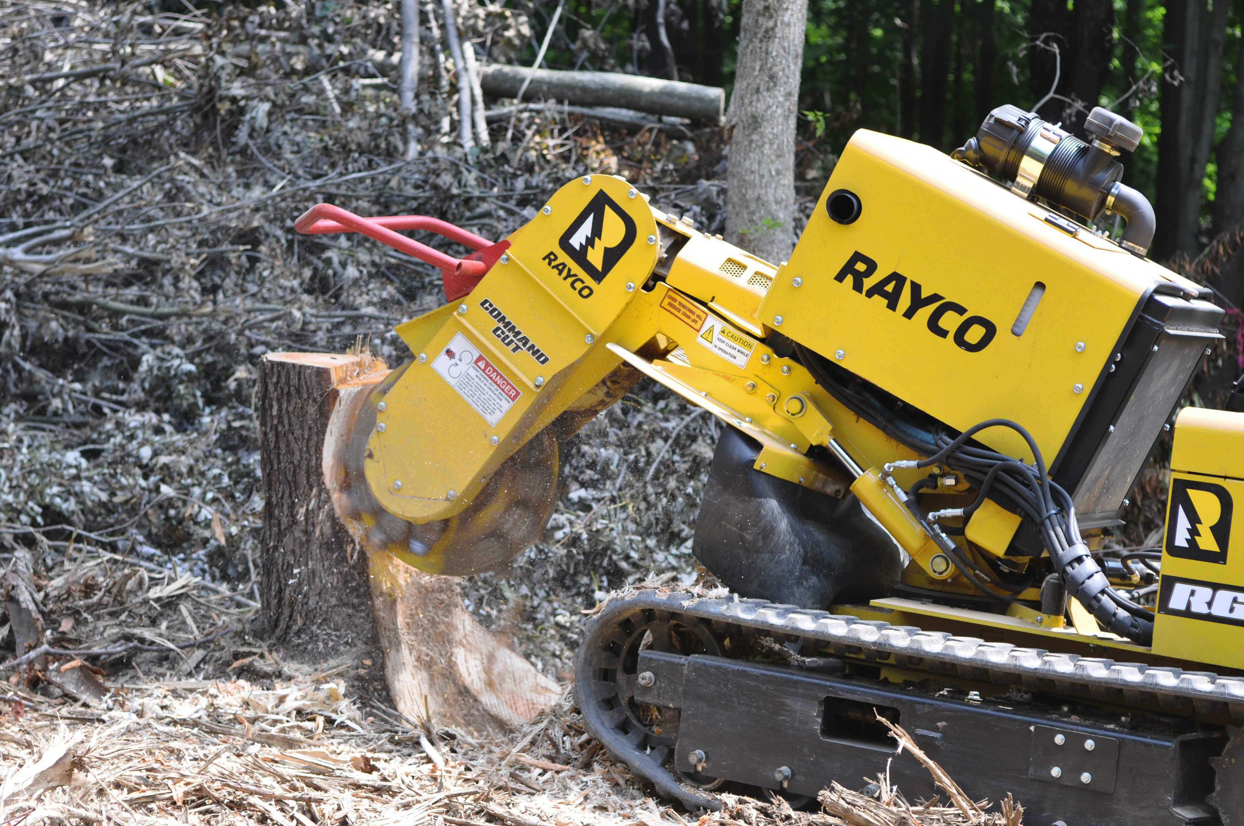 Rayco Stump Cutter For Sale Rent Or Lease In New Jersey